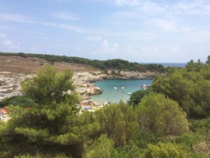 port badisco uitzicht vanaf weg